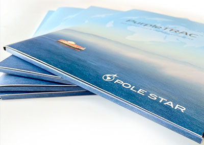 Pole Star Brochure + folder design