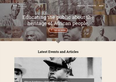 African Heritage Forum
