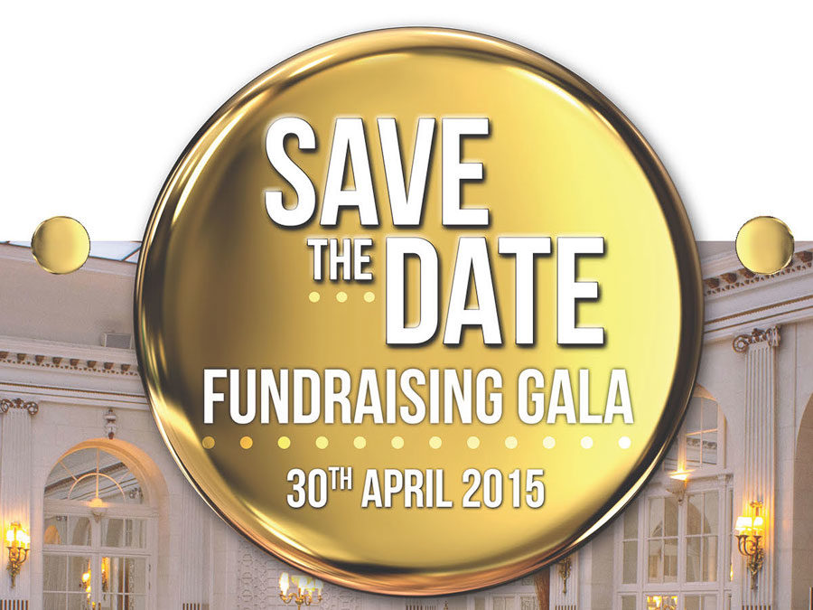 Save the Date Fundraising Gala Flyer