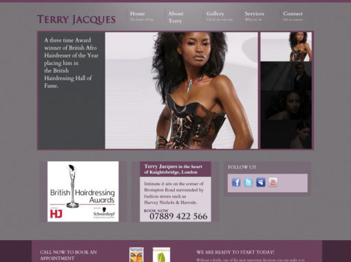 Terry Jacques website